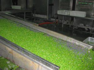 Сушеный зеленый горошек