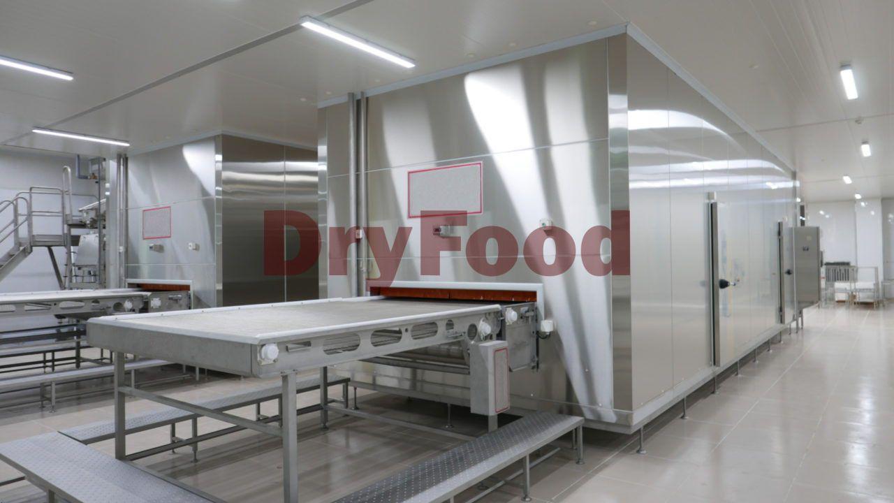 Оборудование для заморозки овощей